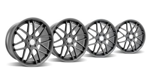 Mustang Downforce Wheel Kit - 20x8.5/10 Graphite (05-14) - Picture ofMustang Downforce Wheel Kit - 20x8.5/10 Graphite (05-14)