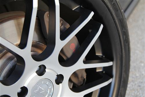 Mustang Downforce Wheel Kit - 20x8.5/10 Matte Black w/ Machined Face (05-14) - Picture of Mustang Downforce Wheel Kit - 20x8.5/10 Matte Black w/ Machined Face (05-14)