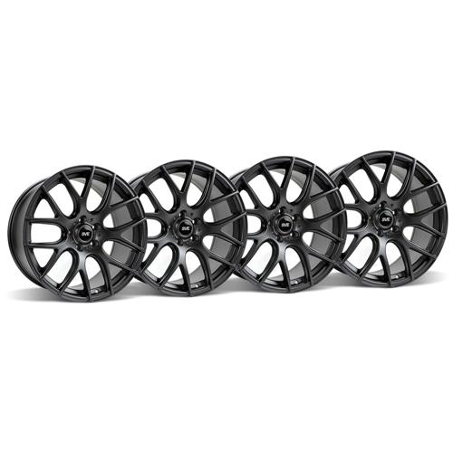 Mustang SVE Drift Wheel Kit - 19x9.5 Flat Black (05-15)