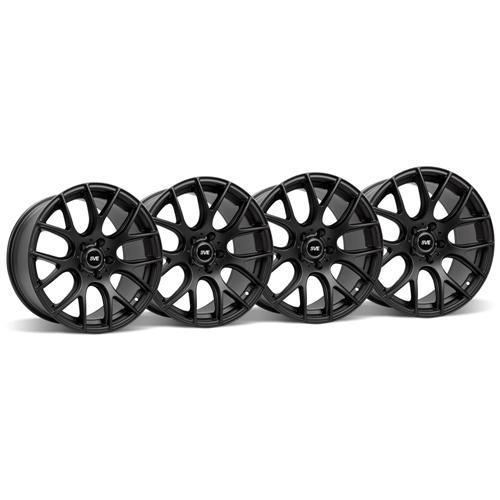SVE Mustang Drift Wheel Kit - 18x9/10 Flat Black (05-15)