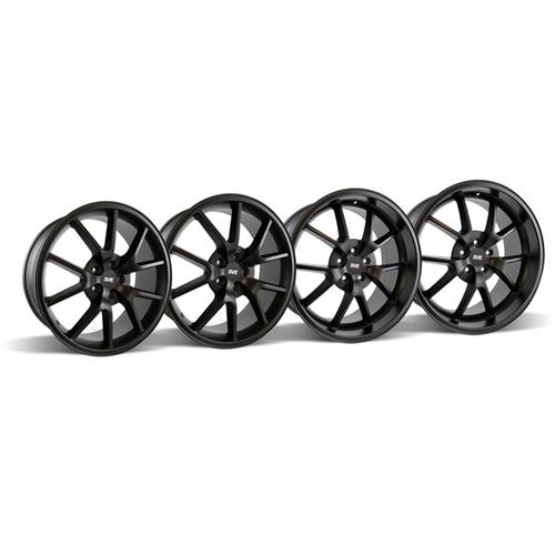 Mustang FR500 Wheel Kit - 20x8.5/10 Matte Black (05-15)