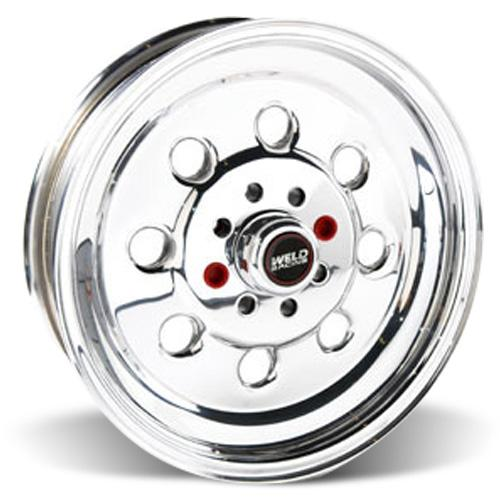 "Weld Racing Mustang Draglite Wheel - 15x3.5"" Polished (79-93) - Weld Racing Mustang Draglite Wheel - 15x3.5"" Polished (79-93)"