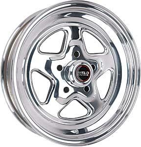 "Weld Racing Mustang Pro-Star Wheel - 15x3.5"" Polished (94-04)"