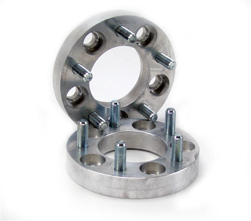 "Mustang 1"" 5 Lug Wheel Spacer,  Sold As A Pair (94-14)"