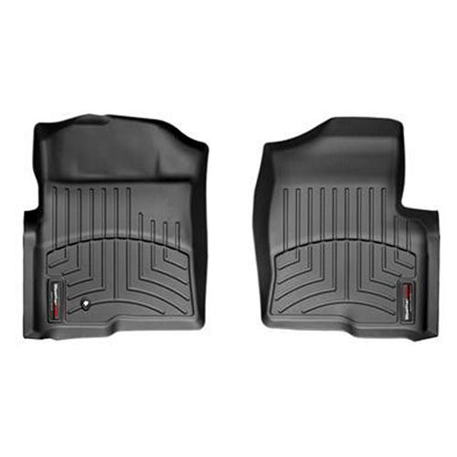 2010 Ford Raptor Weather Tech Front Floor Liners, Digital Fit, Black  Only fits 2010 with single floor mat retainer hook on driver side.