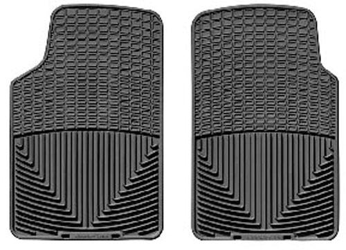 Weather Tech Mustang Front Floor Mats Black (79-04)
