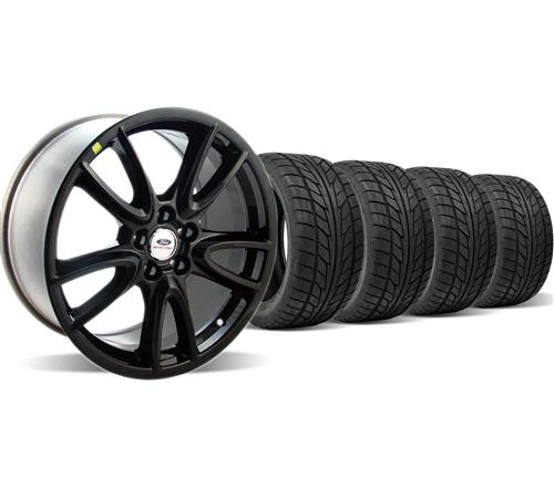 Ford Racing Mustang Track Pack Wheel & Nitto Tire Kit  Black (05-14)