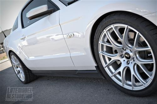 SVE  Mustang Drift Wheel - 19X9.5 Silver (05-14)