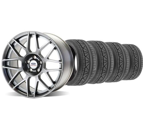 Ford Racing Mustang 2011 GT500 Wheel & Nitto Tire Kit - 19X9 (05-14)