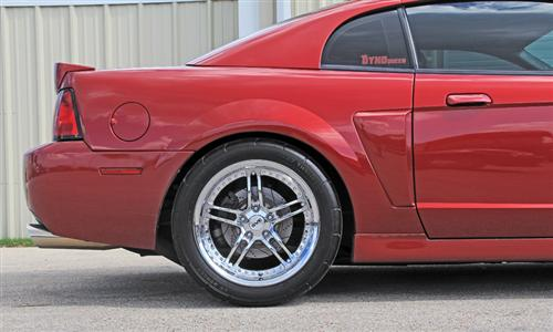 "SVE Mustang Series 2 Wheel & Tire Kit - 18x9/10"" Chrome (94-04) - SVE Mustang Series 2 Wheel & Tire Kit - 18x9/10"" Chrome (94-04)"