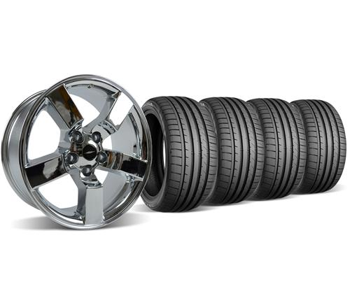 SVT Lightning Wheel & Tire Kit - 20x9 Chrome (99-04)