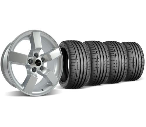 SVT Lightning Wheel & Tire Kit - 20x9 Silver (99-04)