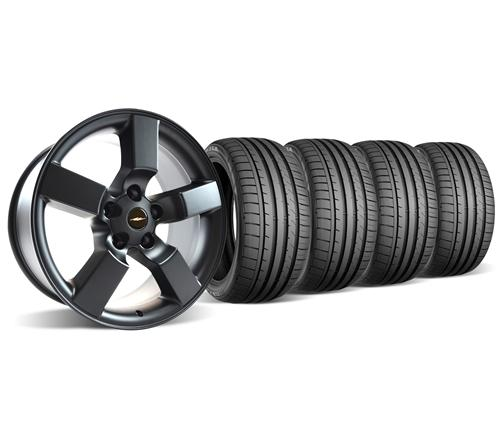 F-150 SVT Lightning Wheel & Tire Kit - 20x9 Satin Black (99-04)