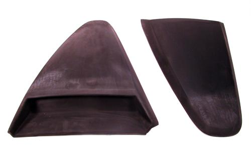 Xenon Mustang Quarter Window Scoops (94-98)